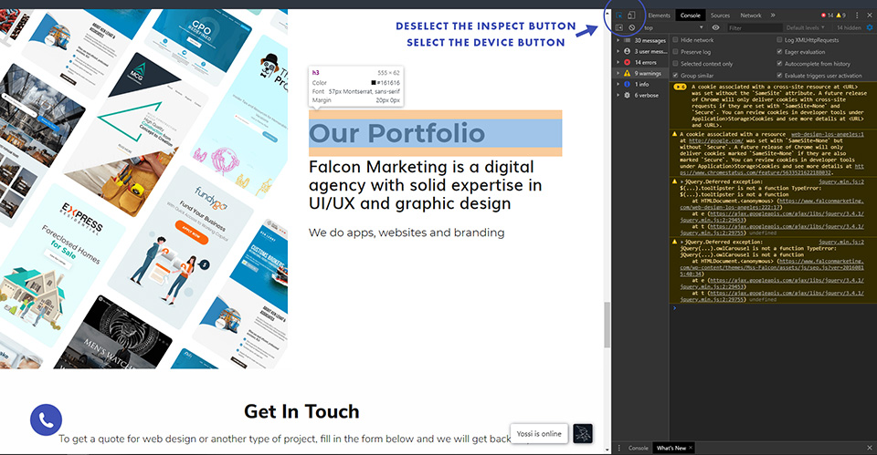 Mobile friendly tutorial image 2